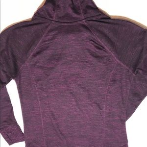 RBX Sweaters - RBX Purple cowlneck pullover athletic top